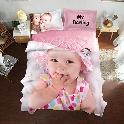 Custom 3 Pieces Summer Quilt Bedding Set