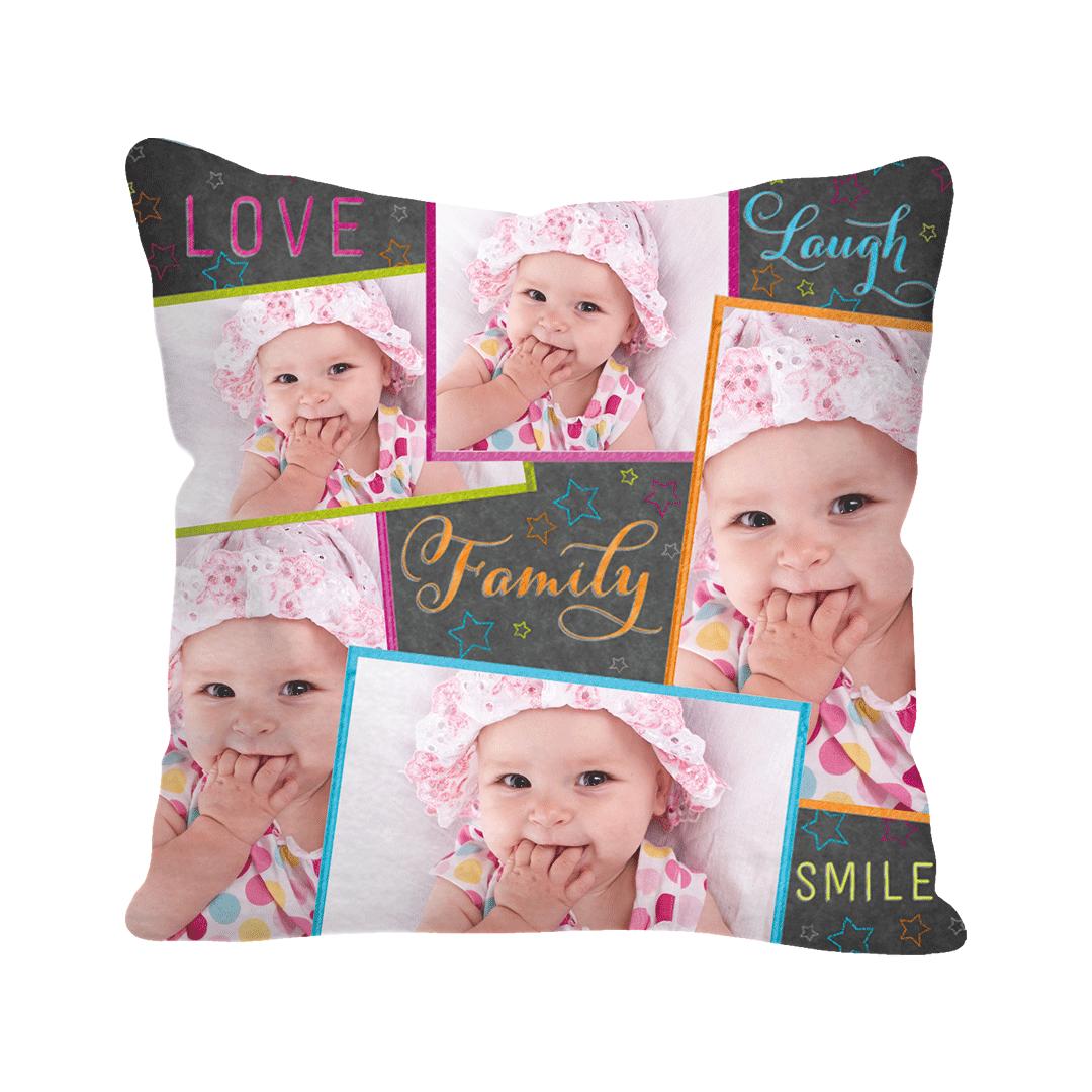 Custom Canvas Square Pillow Cover
