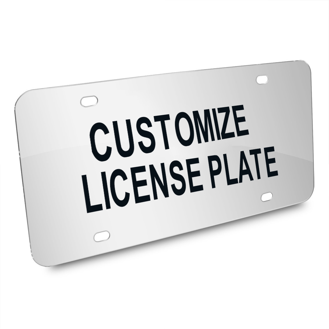 Custom USA Car License Plate