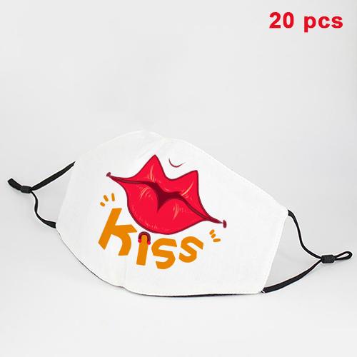 Custom Cotton Face Mask [20 PCS]