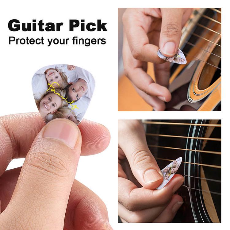 Custom Photo Guitar Pick [3 PCS]