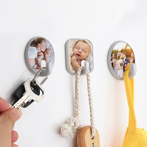 Custom Photo Oval Hook