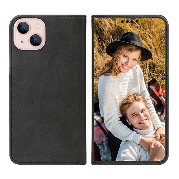Custom for iPhone 13 Flip Wallet Case