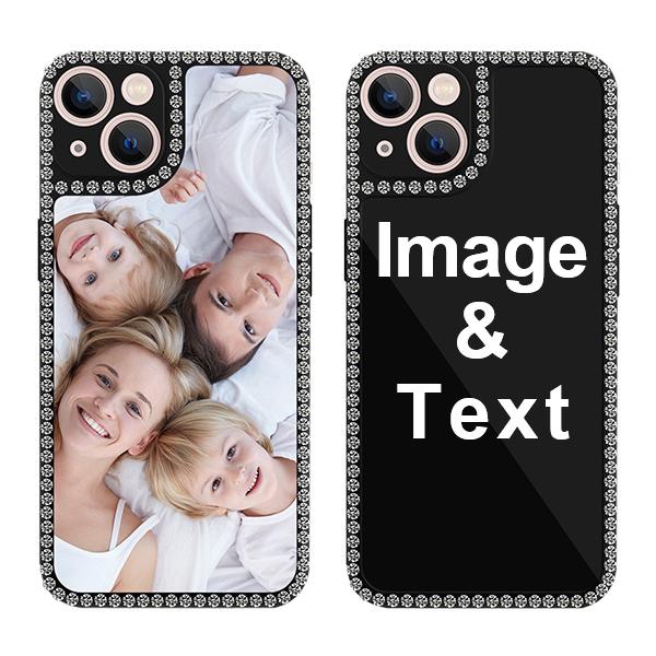 Custom for iPhone 13 Bling Rhinestone Case