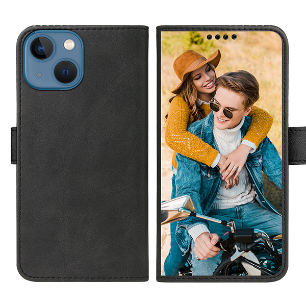 Custom for iPhone 13 Mini Flip Wallet Case
