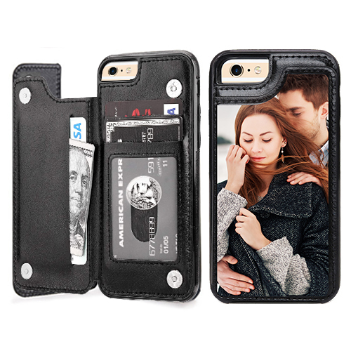 Custom for iPhone 6 Card Holder Wallet Case
