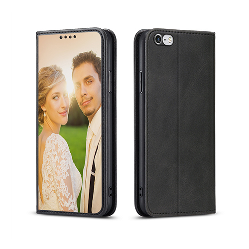 Custom for iPhone 6 Plus Flip Wallet Case