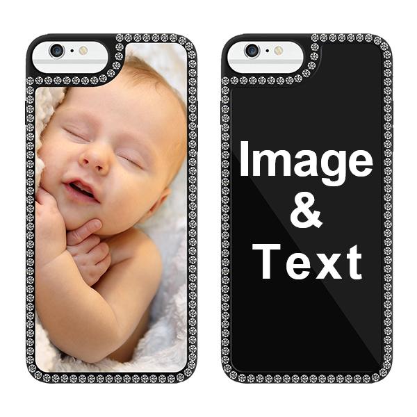 Custom for iPhone 6 Plus Bling Rhinestone Case