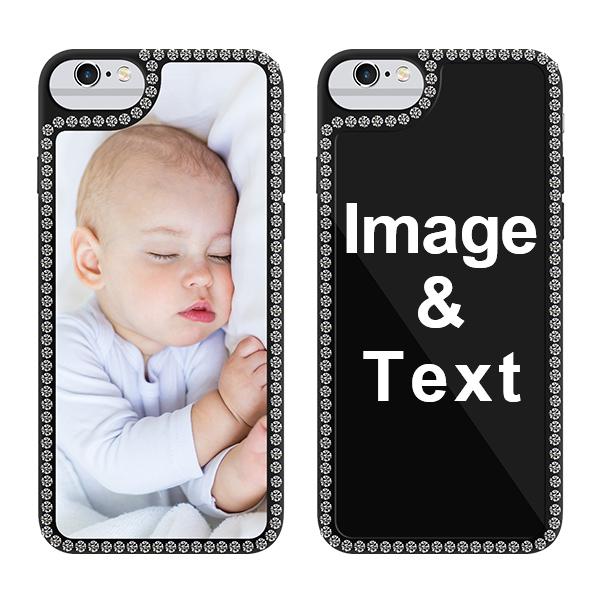 Custom for iPhone 6s Bling Rhinestone Case