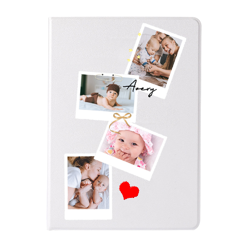 Custom Leather Flip Case for iPad 2/3/4