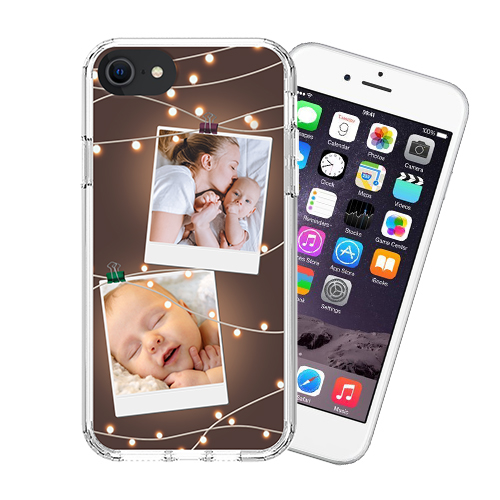 Custom for iPhone SE 2020 Military Grade Case