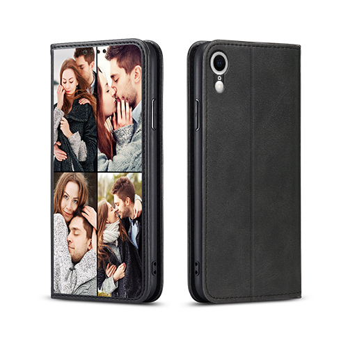 Custom for iPhone XR Flip Wallet Case