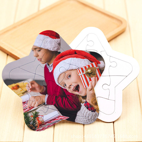 Custom Jigsaw Puzzles Star