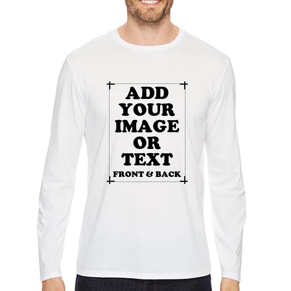 Custom Men's Premium Long Sleeve T-Shirt