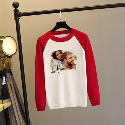 Custom Adult Raglan Sweatshirt